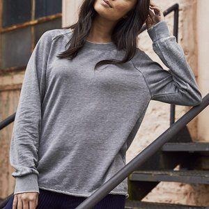 Lazy Day Burnout French Terry Sweatshirt